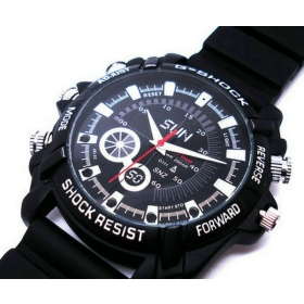 NUOVO A1000 Spy Watch telecamera a infrarossi di visione notturna VIDEO RECORDER 4GB