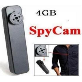 Brand new 4GB Mini Cam Button Video Camera Recorder DVR Hidden under Clothes