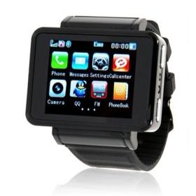 Unlocked K1 Mobile Phone Watch Mp3/Mp4 + Bluetooth + Camera + FM Radio m