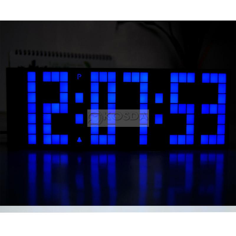... Πολλαπλών λειτουργιών Ένδειξη θερμοκρασίας Canlendar LED Ψηφιακό ρολόι  επιτραπέζιο ρολόι ... 12bde5d5fb9