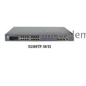 Kedvezmény eladása eredeti Huawei LS 2318TP-EI 16 port switch