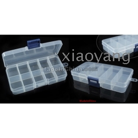 free shipping 10pcs/lot transparrent removable box