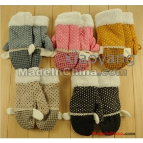 free shipping 1pair girl glove women gloves good quality