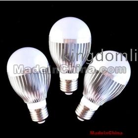 3W LED gömb izzók, 20db / tétel, Bridgelux chip 3W LED izzó, 85V-265V, 3éves garancia