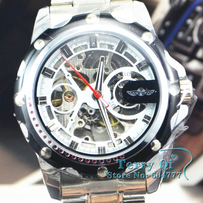 WINNER Fashion Watch Férfi csontváz Auto mechanikus órák Karóra SG vagy HK  hozzászólás ... e0a0953553