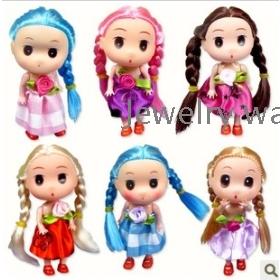Baby Dolls powiesić długimi ogonami zabawek dziecięcych lalek DIM