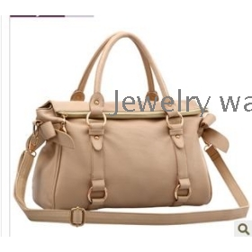free shipping Summer new bowknot shoulder bag lady oblique satchel