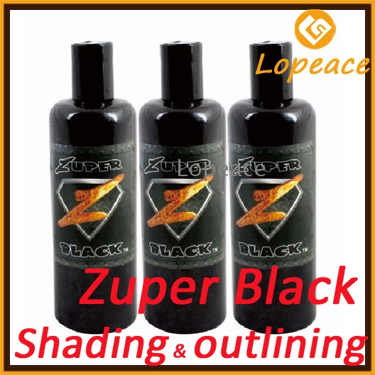 Intenze zuper black tattoo ink 12oz 360ml am ks12 for Zuper black tattoo ink intenze