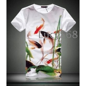 2012 New style T-shirt Leica printing Free shipping wholesale Man T-shirt  fashion t-shirt Men's clothes short sleeve t-shirt