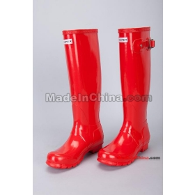 Buy Free shipping surface gloss shine wholesale brand rain boots