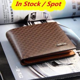 25d767d1cfb9 Hot πωλήσεις !Brand New Fashion Casual Ανδρικά Πορτοφόλια Δερμάτινα και κάτοχοι  καρτών δωρεάν αποστολή 1