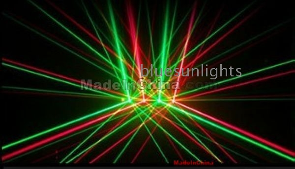 Package Sell 5000mw 5w Rgy Animation Laser Light