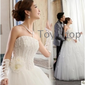 free shipping  New wedding elegant sweet 's wedding dress up chest wedding ceremony Necklace + crown + earrings