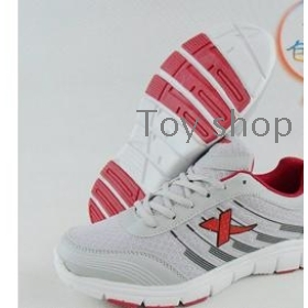 Spring wave shoes of male recreational shoe/male sports shoes male nets shoes men's shoes ash