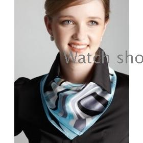 Nainen ammatillinen silkkihuivi OL pieni jacquard 50 cm * 50 cm ammattilainen pieni käsipyyhe