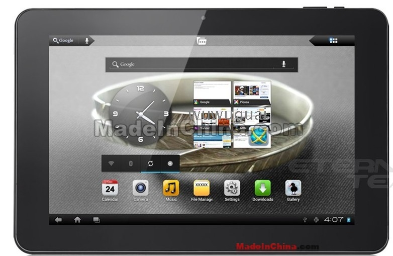 analog radio sanei n10 deluxe tablet pc android 4 0 10 1 inches ips 1280x800 16gb / 1gb ram bluetooth hdmi has