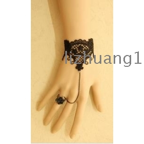 freeshipping Europe and the female hand catenary joint ring to restore ancient ways bud silk wristbands black small formal attire deserve noted