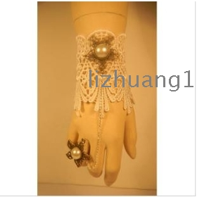 White bud silk bracelet wrist and  restoring ancient ways black small formal attire deserve noted the bride