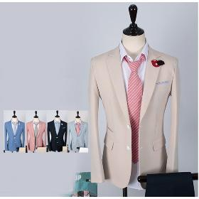 2013 suit classic buckle casual small suit jacket male