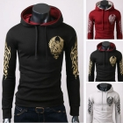 Latest Style Men's Cotton Blends Printing Hoody,Popular Men's Coat