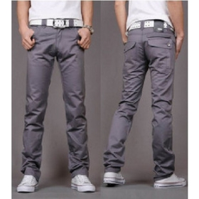 New Arrival Men's Casual Slim Fit Pants 51051