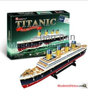 titanic 3d puzzle instructions