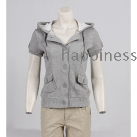 free shipping The new female cotton thin guard coat female