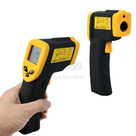 Holiday Sale! Digital Non-Contact Laser Infrared IR Thermometer -50-380 Degree Free Shipping Dropshipping 339