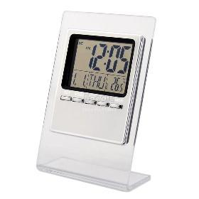 5db / Lot nagykereskedelmi nagysebességű digitális ébresztőóra hőmérővel Naptár szundi 19105 B002