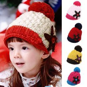 Ingyenes házhozszállítás 2014 koreai pipák gyerek kalapok lányok és fiúk, kötött téli meleg divat szép aranyos csillag Baby Cap 7444