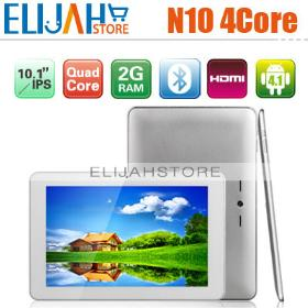 10.1'' Sanei N10 Ultimate IPS Allwinner A31 Quad Core Tablet 1280*800 Android 4.1 2G 16g Dual Camera HDMI