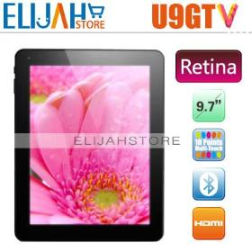 """In stock! Cube U9GTV Retina IPS 9.7"""" RK3066 Dual Core tablet PC 1g 16g Memory Bluetooth U9GT5 Android 4.1.1"""