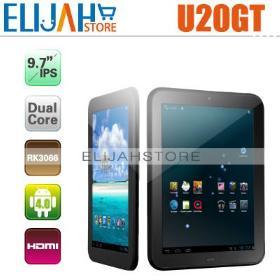 "Cube U20GT RK3066 Dual Core Tablet pc 9.7"" IPS 10 Points 1GB/16GB,Bluetooth Dual Camera,HDMI"