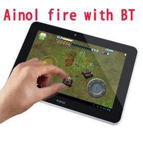 ingyenes szállítás android 4.1 7inch Ainol láng / tűz kétmagos dual kamera AML8726-MX 1.5GHz 1GB / 16GB fémből készült bluetooth