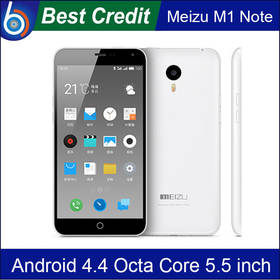 In stock! Meizu M1 Note MTK6752 Octa Core 1.7GHz 4G FDD LTE Cell Phone Android 4.4 2G 5.5 Inch 13MP 3140mAh/Kate