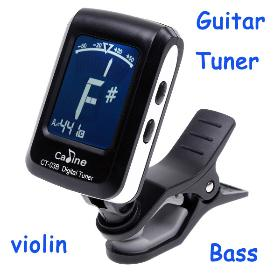 LCD Clip-on Electronic Digital Guitar Chromatic Bass Violin Ukulele Tuner I96 Freeshipping Drop Shipping Wholesale