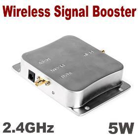 5W 2.4GHz WiFi Wireless Signal Booster Broadband Amplifier