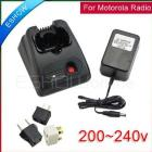 Free shipping!Radio Battery Charger 200-240v for Motorola GP68 GP63 GP668 Walkie talkie J0103A Eshow