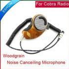 4 Pins Woodgrain Noise Canceling Microphone Speaker for US Radio two way CB Ham Radio J0051A