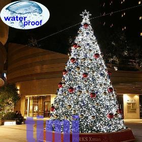 Promotion!!!!! 10x 10M Waterproof Christmas 100LED White String Lights X'mas Fairy Lights For Outdoor Decorating 110V+US Plug