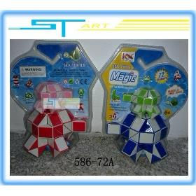wholesale 5 pcs/lot Free shipping 586-72A 72 section sea turtle magic ruler classic educational toys
