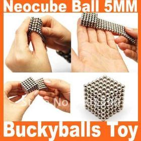 Neo Cubes Buckyballs Toy Toy Ball 5MM 216 Balls Nickel