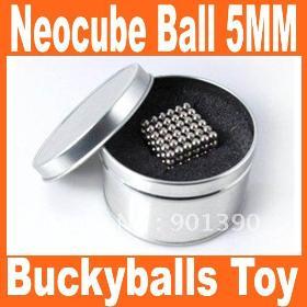 Big discount Neo Cubes Buckyballs Toy Toy Ball 5MM 216 Balls Nickel