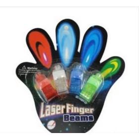 Bezpłatna wysyłka! Kolorowe emitująca światło Finger zabawki , światła palcu błysk lampy emitujące światło LED pierścienie