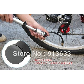 NEW BETO 036 Cycling Bike Bicycle Pump Double cylinder 300 PSI Pump BETO-mp-036 22cm