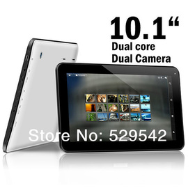2014 Newest Cheap Tablet PC 10 inch Capacitive Screen 1024*600 Dual Core Allwinner A23 Android 4.2.2 1GB/8GB Dual Camera +Gifts