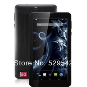 7 inch MTK6572 dual core Android 4.0 512M 4GB GPS BLUETOOTH FM GSM WCDMA 3G tablet pc 3g sim card slot Capacitive