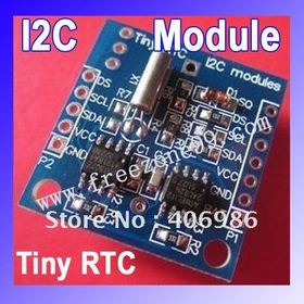 I2C RTC DS1307 AT24C32 Real Time Clock Module for Arduino 51 AVR ARM PIC Free Shipping