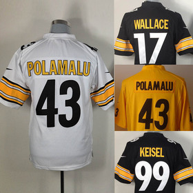 Free shipping Embroidery logos,Steelers Men's Fan American Football Jerseys, quality size M-3XL Wholesale