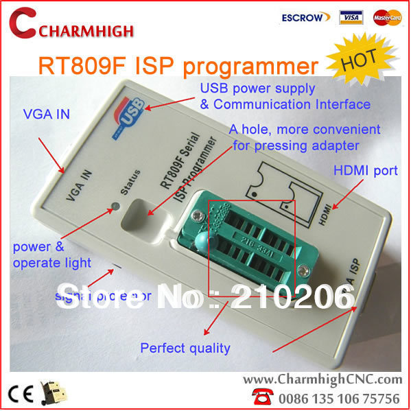 Hottest VGA LCD ISP programmer RT809F Serial ISP – Wholesale